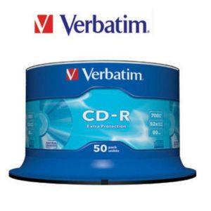CD-R VERBATIM 700MB 52X spindle (50)