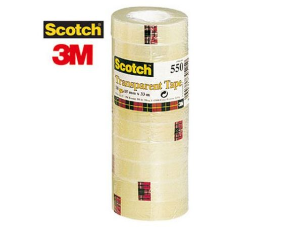 Tape SCOTCH 550 15mmx33m transparent