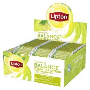 Te LIPTON grønn m/sitron  (100)