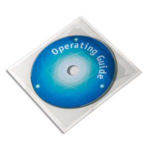 CD/DVD konvolutt DURABLE i plast (10)