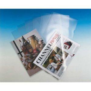 Plastomslag ESSELTE A4 105my klar (100)