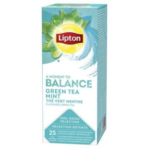 Te LIPTON grønn tchae m/mint (25)