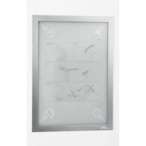 Ramme DURAFRAME Wallpaper A4 sølv