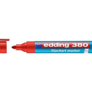 Flippoverpenn EDDING 380 rød