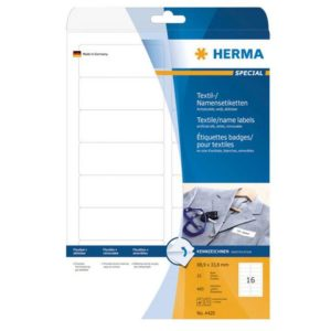 Etikett HERMA navn A4 88