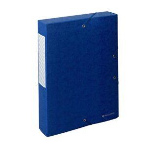 Strikkboks EXACOMPTA 60mm 600g blå