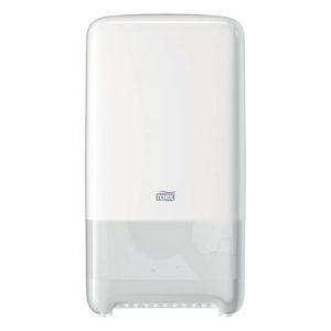 Dispenser TORK Twin toalettpapir T6 hvi