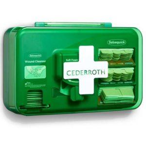 Førstehjelpssett CEDERROTH Wound care