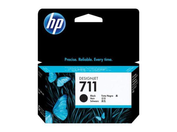 Blekk HP 711 CZ129A sort