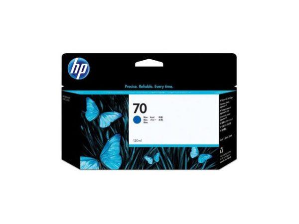 Blekk HP 70 130 ml blå