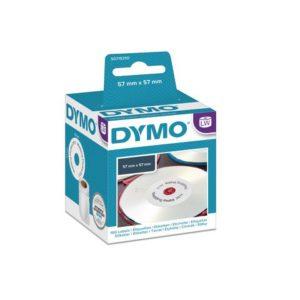 Etikett DYMO CD/DVD ø57mm (160)
