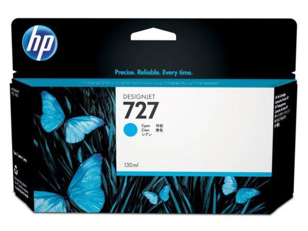 Blekk HP 727 B3P19A blå