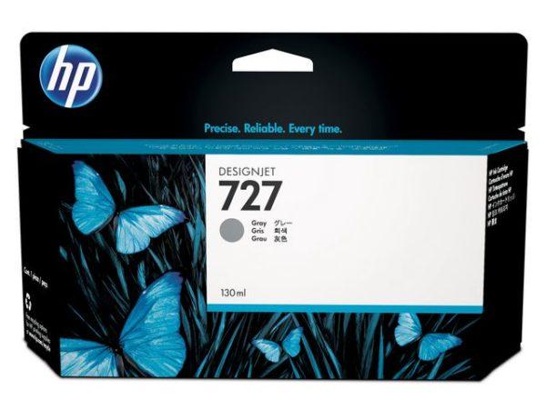 Blekk HP 727 B3P24A grå