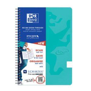 Notatbok OXFORD Touch B5 90g DOT mint