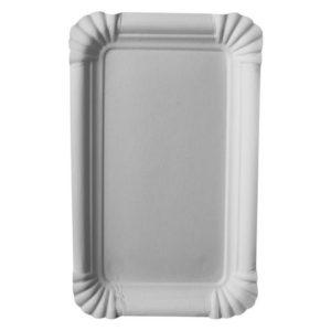 Tallerken PURE 10x16 cm hvit (250)