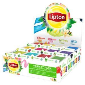Te LIPTON assortert displayboks (180)