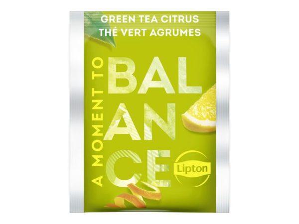 Te LIPTON grønn m/sitron (25)