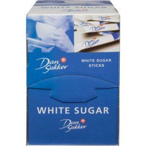 Sukkersticks DANSUKKER hvit 4g (225)