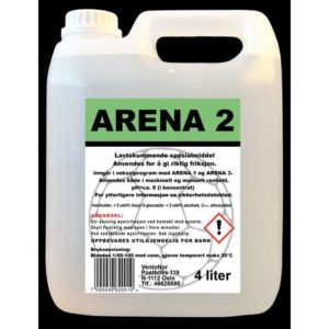 Rengjøring ARENA 2 for sportsgulv