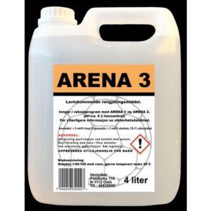 Rengjøring ARENA 3 for sportsgulv
