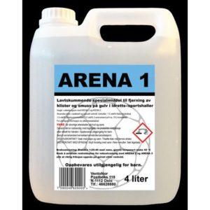 Rengjøring ARENA 1 for sportsgulv