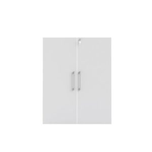 Skapdører PRIMA m/lås hvit (2)