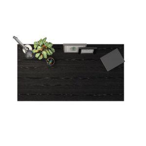 Bordplate PRIMA melamin 150x80cm sortas