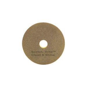 Gulvpad 3M SCOTCH-BRITE Clean&Shine 24t