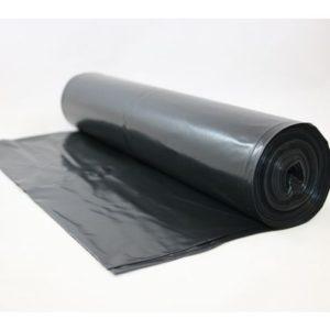 Avfallssekk LD-PE 80x125cm 50my sort(25