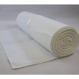 Avfallspose LD-PE 60x90cm 30my hvit (50