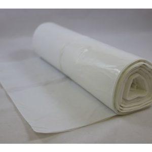 Avfallspose LLD-PE 60x90cm 18my hvit(70