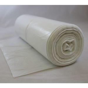 Avfallspose LD-PE 60x60cm 15my hvit(250