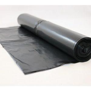 Avfallssekk LD-PE 86x108cm 37my sort(20