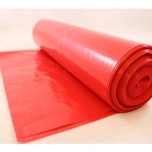 Avfallssekk LD-PE 72x112cm 60my rød (20
