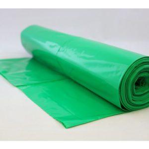 Avfallssekk LLD-PE 700x1100 grønn (25)