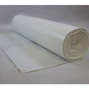 Avfallspose LD-PE 60x90cm 20my hvit (50