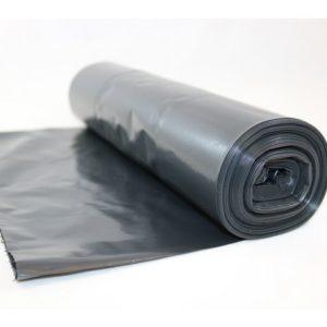 Avfallssekk LD-PE 54x105cm 50my sort(25