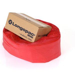 Avfallssekk LONGOSTAND Mini 18my rød