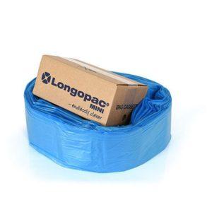 Avfallssekk LONGO Mini strong 26my blå