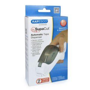 Tapedispenser RAPESCO SupaCut + 2rl