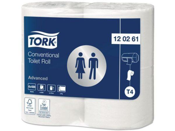 Toalettpapir TORK Advance 2L T4 69m (4)