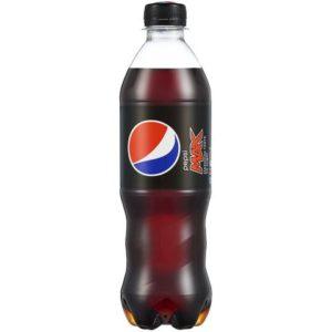 Mineralvann Pepsi Max 0