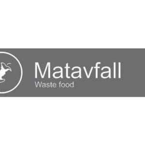 "Etikett RØROS ""Matavfall"""