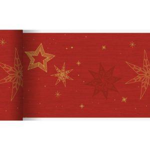 Bordløper DUNICEL Star rød
