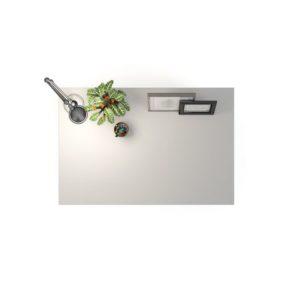 Bordplate PRIMA melamin 120x80cm hvit
