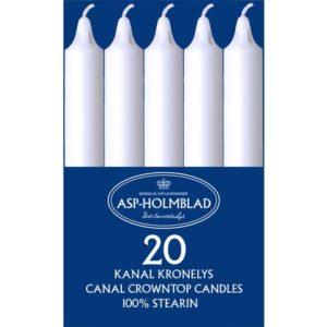 Kronelys kanal hvit (20)