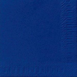 Serviett DUNI 3L 33cm mørk blå (125)
