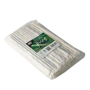 Sugerør papir enkelpakket Ø0