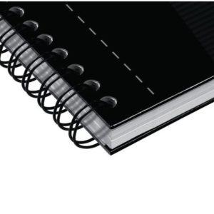 Notatbok OXFORD Smart Black A4 ruter