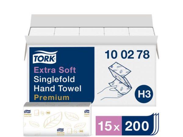 Tørkeark TORK Prem singlef 2L H3 (3000)
